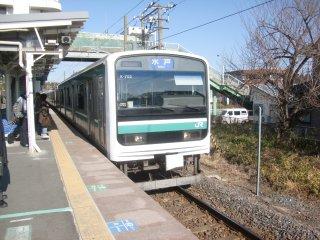 こちらはE501系と言うドレミファ電車の異名を持つクルマです。