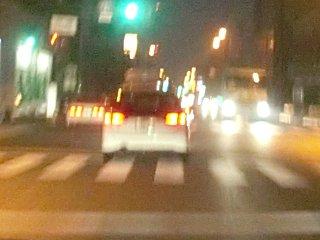 レガシーの運転者は概して乱暴運転。
