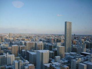札幌市内の眺めです。