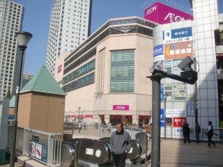 JR橋本駅前で昼食。