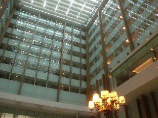 新横浜駅・駅ビルで休憩。