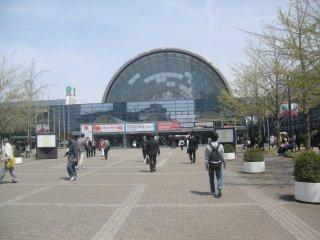 金型展等を見にインテックス大阪に行きました。