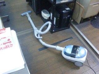 快調になった掃除機です。