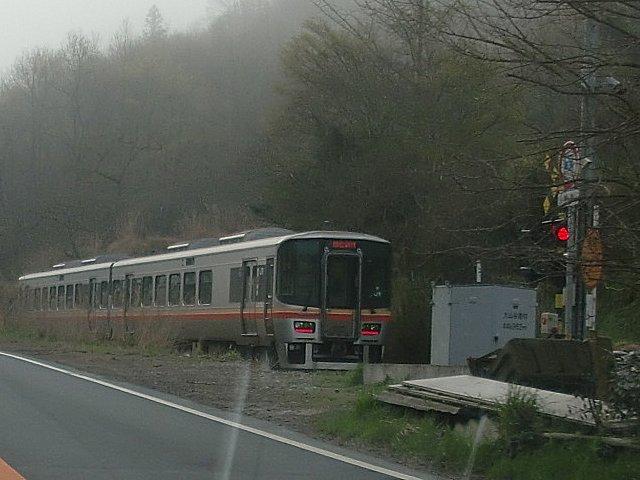姫新線のキハ127系です。