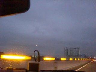 帰りは異例の阪神高速経由です。