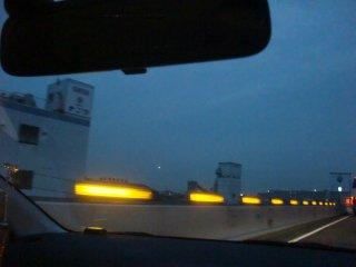 今日も阪神高速経由で帰宅しました。