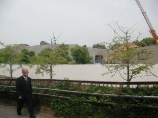 インテックス大阪の脇に結婚式場が出来る様です。