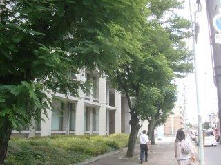 大阪医科大のオープンキャンパスに行きました。
