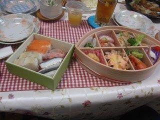 食事会を楽しみました。