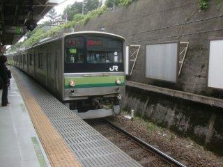 横浜線で、橋本まで向かいました。