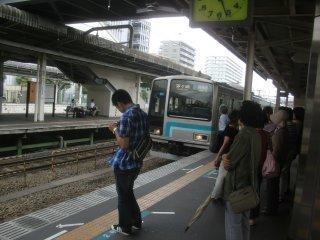 相模線で、番田まで向かいました。