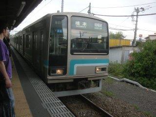 相模線(これしかないが)で橋本に戻り、横浜線で長津田まで向かいました。