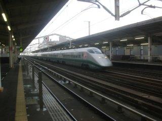 小山で新幹線に乗車する事になりました。