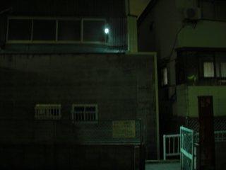 防犯灯をLED式にチェンジしました。