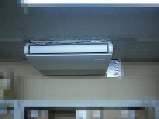 故障したエアコンの取替が完了しました。