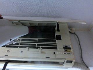 最後は私の部屋のエアコンです。