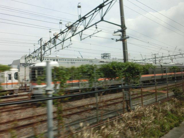 特急運用の無くなったJR東海・373系電車(静岡)。