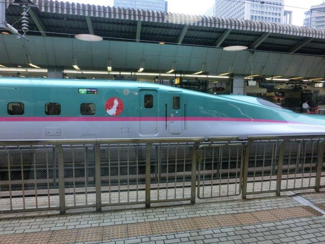 秋田新幹線E3系こまちを従え、はやて35号で運用。