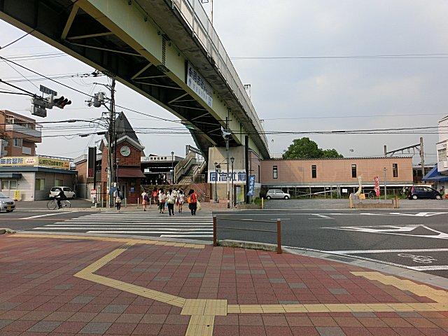 すっかり整備されたJR同志社前駅です。