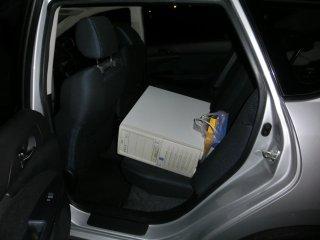 工場サブサーバ機のセットアップは夜半まで掛りました。