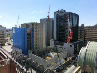 ウチのあたりもマンション建設が進みます。