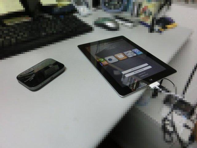 iPadを導入しました。