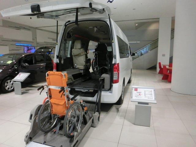 車椅子専用自動車。
