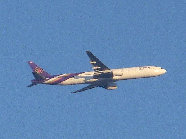 タイ国際航空のエアバス・A330です。