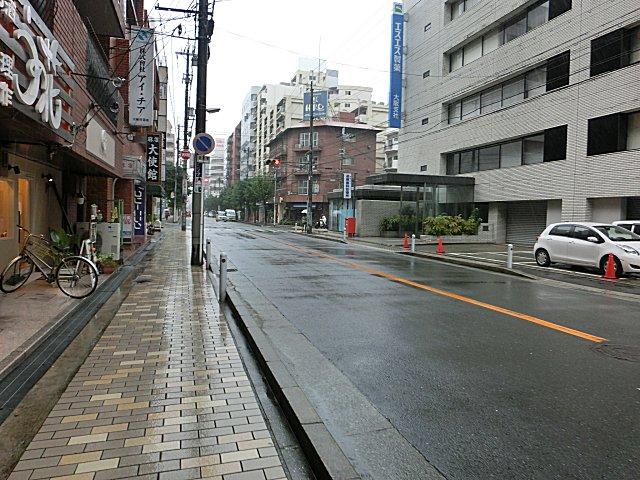 朝から雨です。