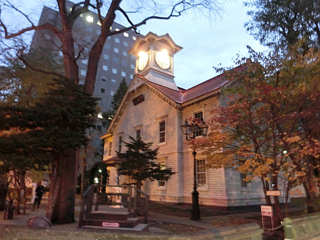 札幌市時計台です。