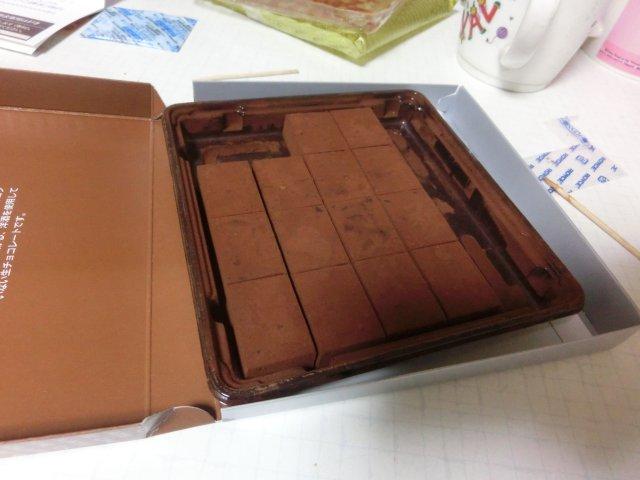 ロイズチョコを食しました。