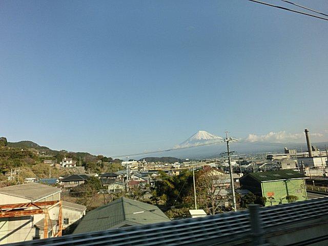 富士山がくっきり見えると良い事があるそうです。
