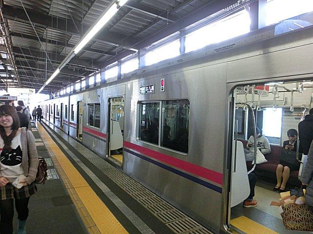 橋本から京王線・地下鉄線で市ケ谷まで移動。