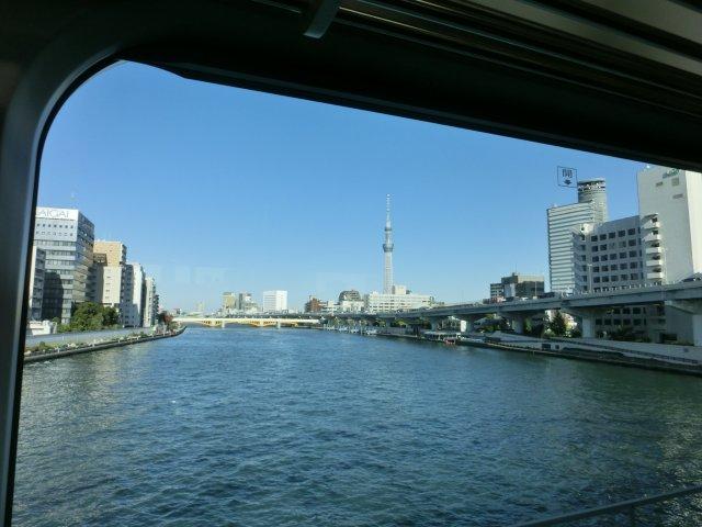 浅草橋から見る東京スカイツリーです。