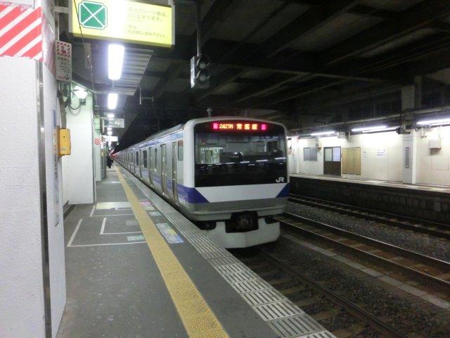 常磐線内で特急に乗り継げず、取手、土浦と乗り換えて日立に向かいました。