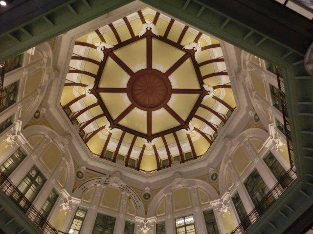 南北の大ドームがこの様に復元されました。