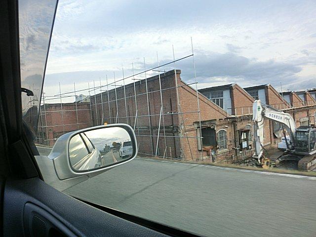 加古川の紡績工場跡地です。