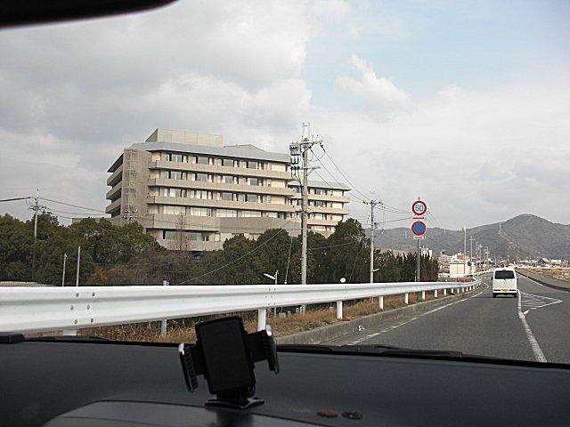 赤穂城跡近辺にその病院はあります。