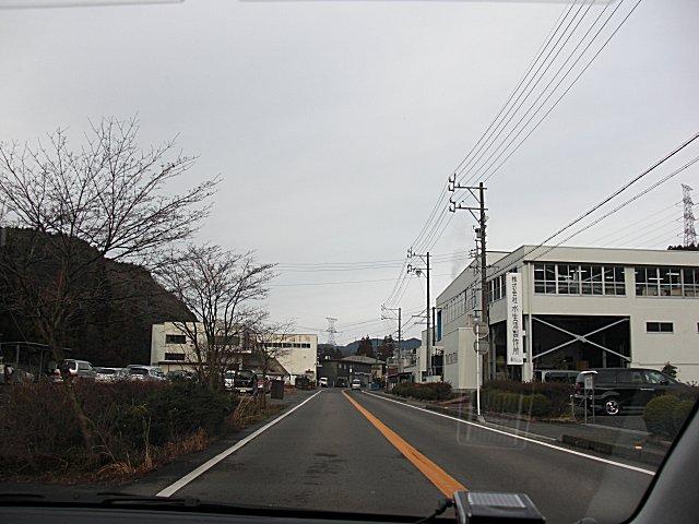 水栓金具工場の街・岐阜県山県市美山地区です。