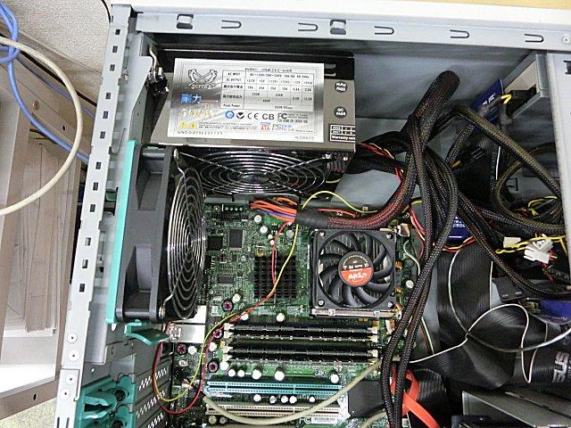 工場サブサーバの筐体ごと使用します。