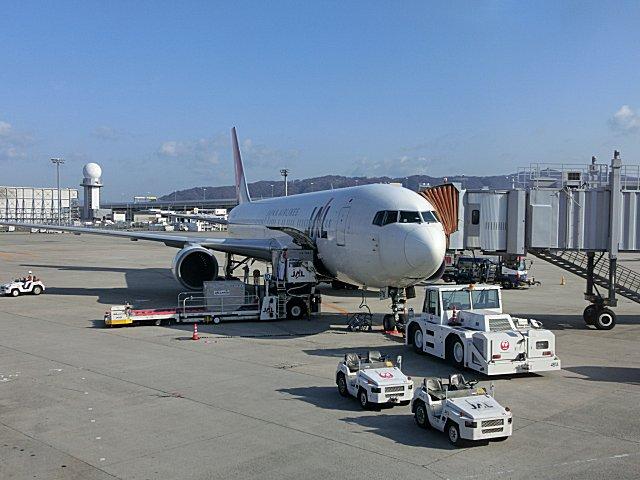 B767-300/JA8976機です。