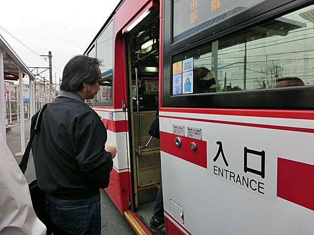 京阪バス21系統です。