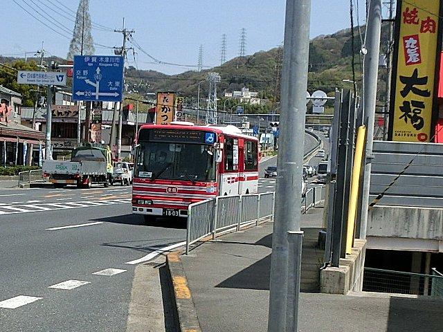 再び京阪バス21系統です。