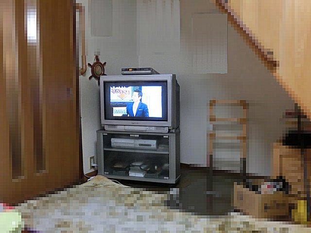今日でこのテレビとお別れです。