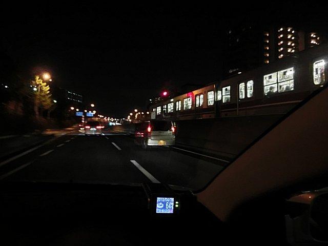 桃山台駅付近です。