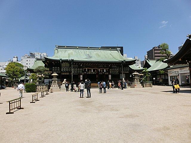 大阪天満宮へ行きました。