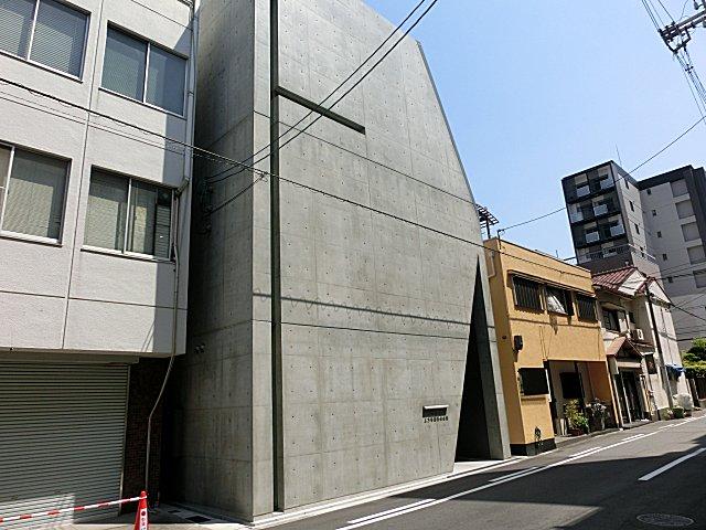 上方落語協会ビルです。