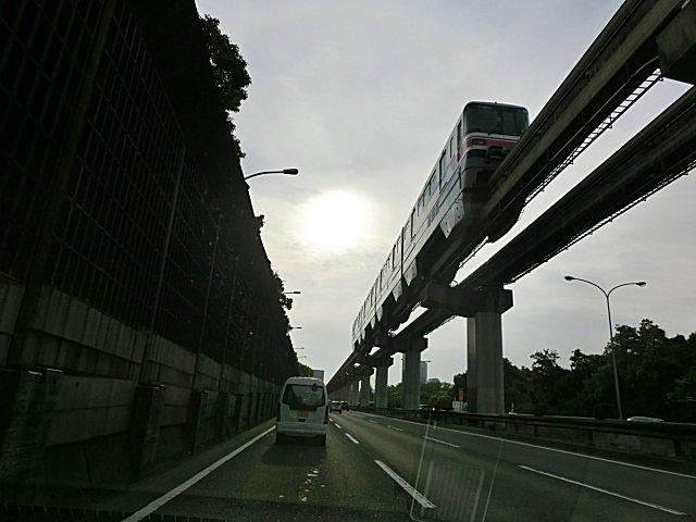 再び大阪モノレールです。