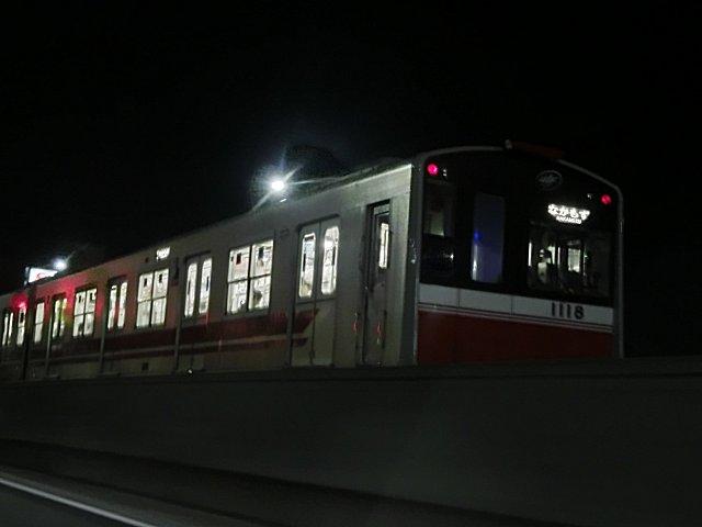 大阪地下鉄10系です。