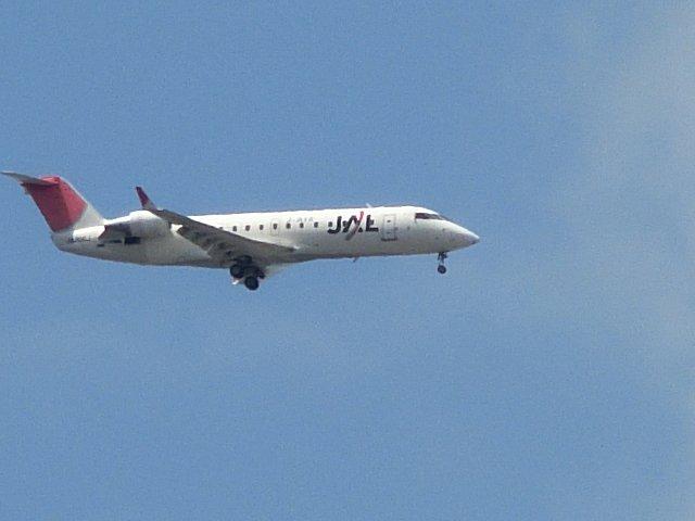 日航・JEXのCRJ200です。